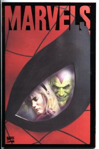 Marvels #4 Alex Ross cover art-Marvel comic book NM-