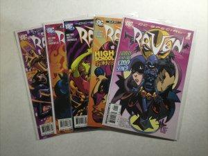 Raven 1-5 1 2 3 4 5 Lot Run Set Near Mint Nm Dc Comics