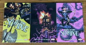 LOT OF 3 DOCTOR STRANGE TPBs THE WAY OF WEIRD LAST DAYS OF MAGIC BLOOD IN AETHER