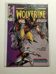 Marvel Comics Presents 10 Near Mint Nm Wolverine Marvel
