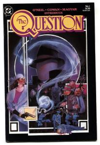 The Question #1 1st issue-DC comic book 1986 VF/NM