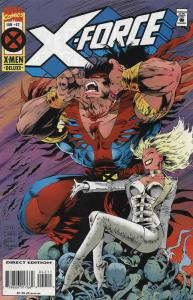 X-Force #42 Deluxe VF/NM; Marvel   save on shipping - details inside