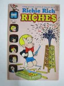 RICHIE RICH RICHES #4 (Harvey, 1/1973) GOOD (G)