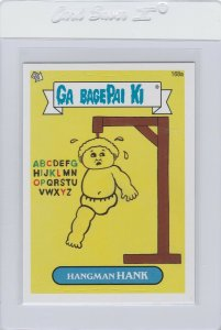 Garbage Pail Kids Hangman Hank 168a GPK 2013 Brand New Series 3 trading card