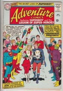 Adventure Comics #337 (Oct-65) FN+ Mid-High-Grade Legion of Super-Heroes, Sup...