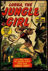 Lorna The Jungle Girl #20 1956- Atlas Silver Age- VG
