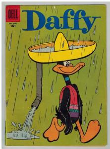 DAFFY DUCK 11 VG-F October 1957