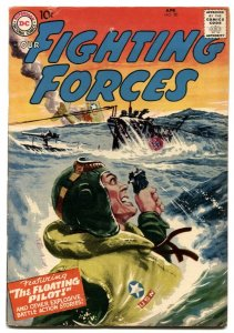 Our Fighting Forces #20-1957- classic greytone cover FN-