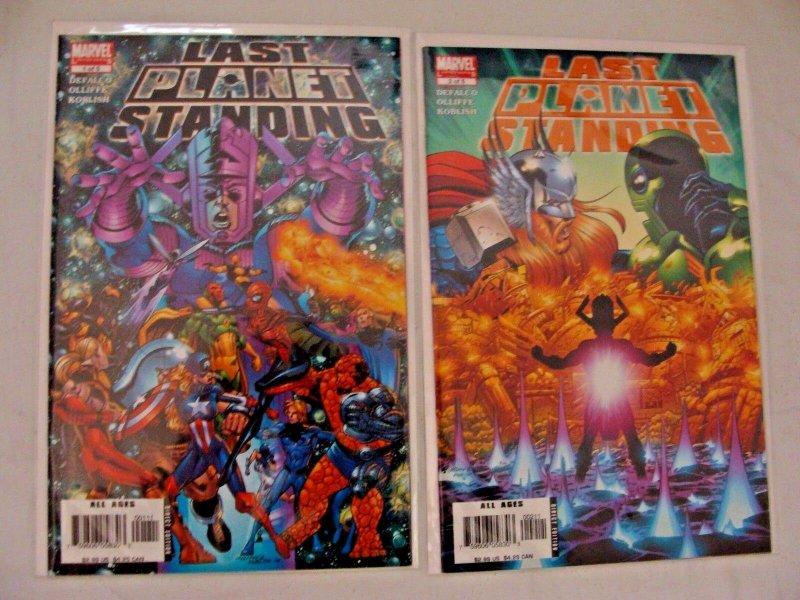 Last Planet Standing 1 2 3 4 5 #1-5  (Jul 2006, Marvel) Complete Set NM