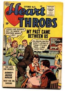 Heart Throbs #35 comic book 1955-Quality-romance-soda shop-ice cream
