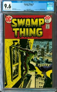 Swamp Thing #7 CGC Graded 9.6 Batman appearance