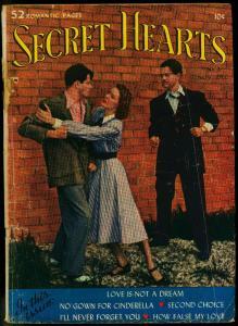 Secret Hearts #2 1949- DC Romance Photo cover FR/GD
