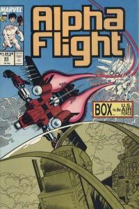Alpha Flight (1983 series) #63, NM- (Stock photo)