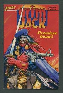 Grim Jack #1 / 9.0 VFN/NM   August 1984