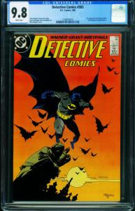 Detective Comics #583 CGC 9.8 1988-1st SCARFACE and VENTRILOQUIST 1256074010