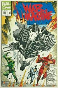 INVINCIBLE IRON MAN#283 VF/NM 1992 SECOND WAR MACHINE MARVEL COMICS