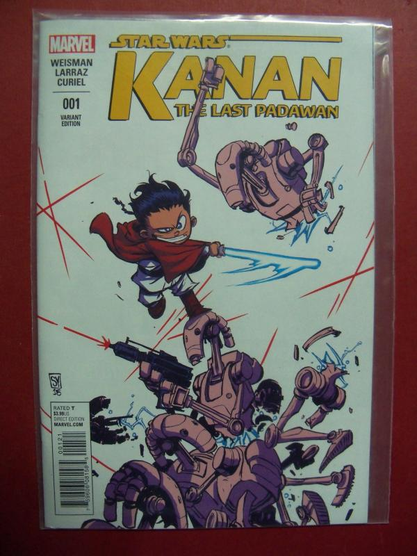 KANAN #001 SCOTTIE YOUNG VARIANT COVER NM 9.4 MARVEL 2015 SERIES