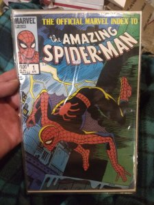 The official Marvel index to The Amazing Spider-Man #1 NM in original plastic