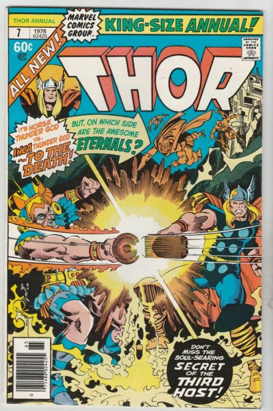 Thor, the Mighty King-Size Special #7 (Jan-78) NM- High-Grade Thor