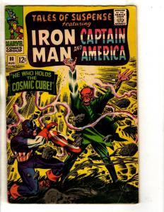 Tales Of Suspense # 80 FN/VF Marvel Comics Captain America Red Skull Cube FH2