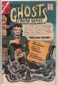 Many Ghosts of Doctor Graves, The #1 (May-67) FN Mid-Grade Doctor Graves