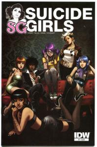 SUICIDE GIRLS #1, NM, Steve Niles, IDW, 2011, more Good Girl in store
