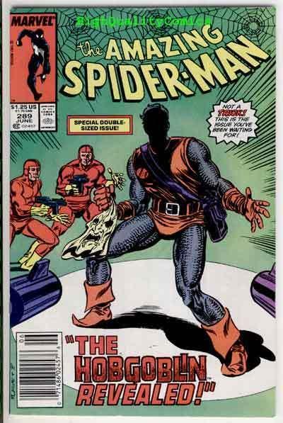 SPIDER-MAN #289, FN/VF, Ned Leeds, 1st HobGoblin, Amazing, 1963, Jack O'Lantern