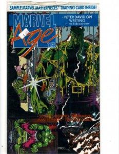 Marvel Age #118 (1992) J606