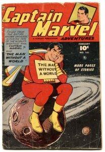 Captain Marvel Adventures #141 1953- King Kull- Sivana G/VG