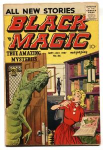 Black Magic #34 1957-HORROR-Simon & Kirby art- VG+