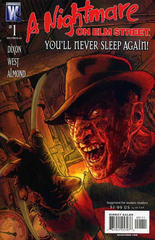 Nightmare on Elm Street, A (Wildstorm) #1 VF/NM; WildStorm | save on shipping -