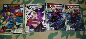 Superman unchained # 1 1 2 3 variant covers dc comics new 52 jim lee scott snyde