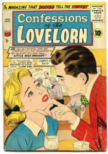 Confessions Of The Lovelorn #63 1955-Jungle story VG