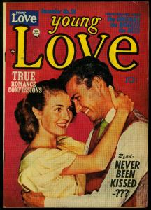Young Love Comics #28 1951- Simon & Kirby- photo cover FN