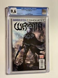annihilation conquest Wraith 1  CGC 9.6 WP Marvel 2007