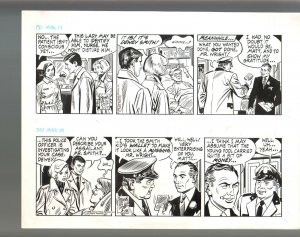 Winnie Winkle Original Double Daily Comic Strip Art 3/17 & 3/18 1989 Frank Bolle