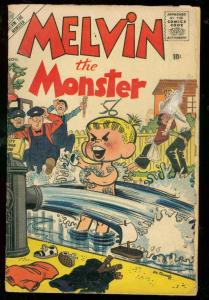 MELVIN THE MONSTER #3 1956-MANEELY COVER-ATLAS COMICS G