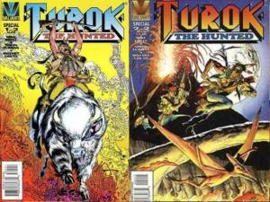 TUROK THE HUNTED (1996 VL) 1-2  complete 2-part story!