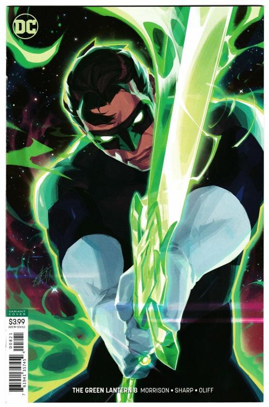 Green Lantern #8 Variant Cvr (DC, 2019) NM