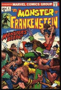 Frankenstein #4 NM- 9.2