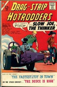 Drag-Strip Hotrodders #4 1965-Charlton-1957 Chevy race car-VF/NM