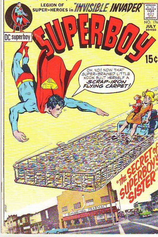 Superboy #176 (Jul-71) FN/VF+ Mid-High-Grade Superboy