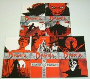 the Complete Dracula #1-5 VF/NM complete series JOHN CASSADAY bram stoker 2009
