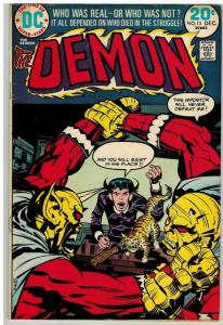 DEMON (1972) 15 VG+ Dec. 1973
