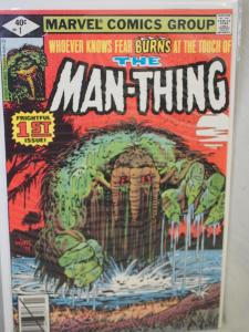 The Man-Thing 1 VF/NM  condition.  Unread. 1979 . 1st issue 2nd series.