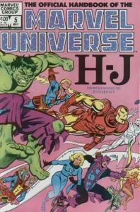 Official Handbook of the Marvel Universe (1983 series) #5, VF+ (Stock photo)