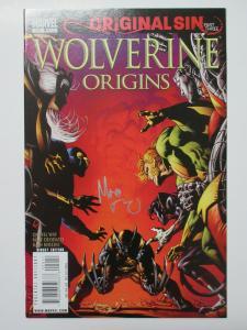 Wolverine Origins (Marvel 2008) #29 Original Sin Hellfire! Signed Mike Deodato