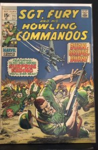 Sgt. Fury #71 (1969)