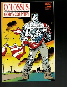 Colossus: God's Country Marvel Comic Book TPB Graphic Novel X-Men Prof. X J402