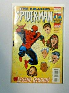 Amazing Spider-Man #1 The Legend Reborn 6.0 FN (1999)